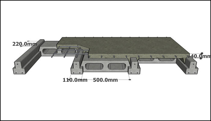 200 mm Single Rib tb
